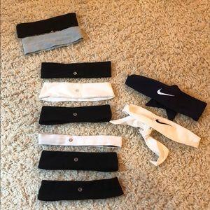 AMAZING Headband Bundle:Lulu/Nike/American Apparel